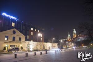 Sheraton Grand Kraków - widok z zewnątrz