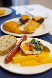 Hotel Alter - śniadanie