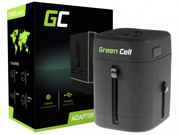Adapter podróżny Green Cell