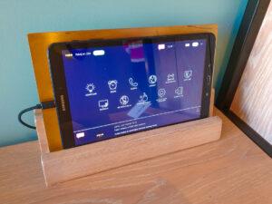 Puro Łódź - tablet do sterowania pokojem